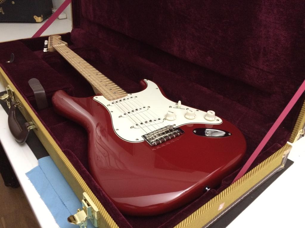 Torino Red. Maple Satin. Custom Order
