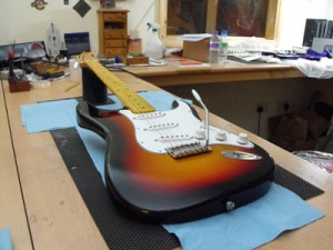 UK Guitar Building Course